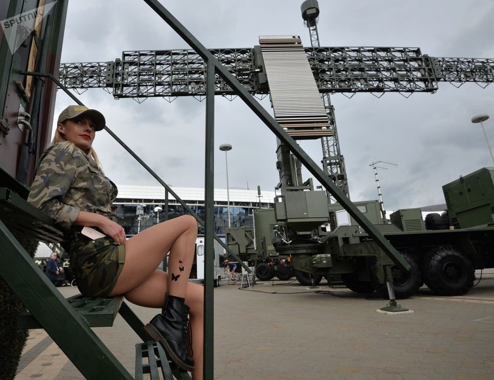 Mezinárodní výstava zbraní MILEX-2019 v Minsku.