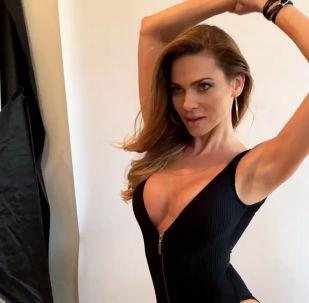 Словакия модель Andrea Veresova Andrea Verešová