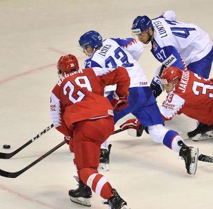 Zápas MS 2019 na Slovensku. Slovensko - Dánsko