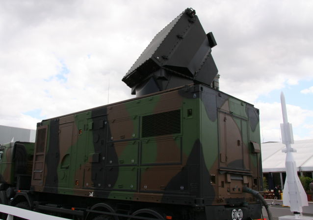 Radar komplexu SAMP-T. Ilustrační foto