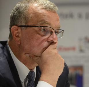 Předseda poslanců TOP 09 Miroslav Kalousek