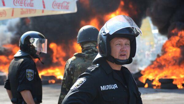 Situace na Majdanu v Kyjevě - Sputnik Česká republika