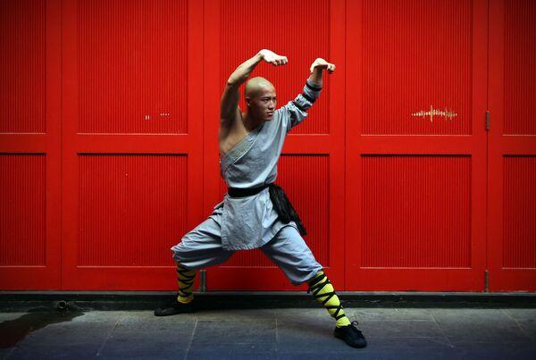 Šaolinské bojové umění kung-fu - Sputnik Česká republika