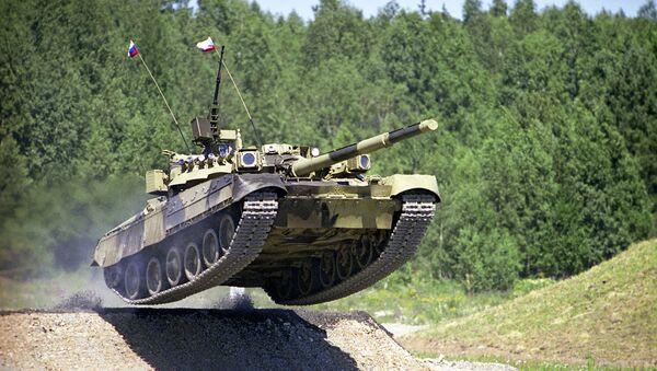 Tank Т-80 - Sputnik Česká republika
