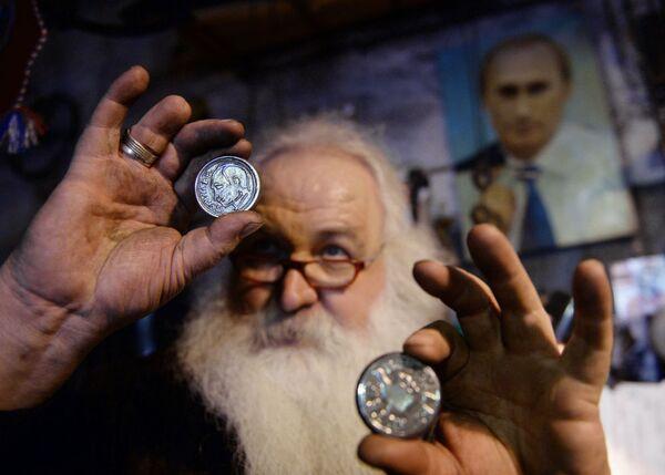 Protikrizová měna od uralského kováře - Sputnik Česká republika