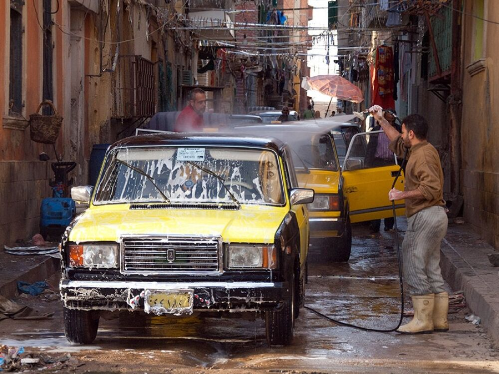 V Alexandrii, Egypt.