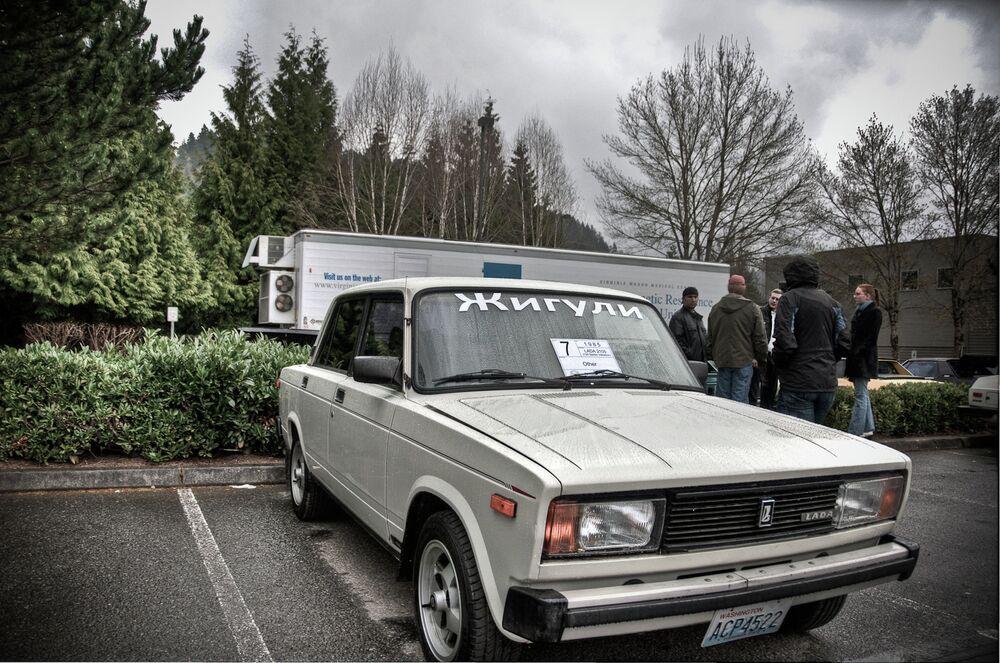Lada v Bellevue, Washington, Spojené státy americké.