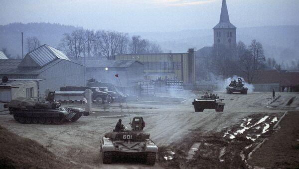 Вывод советских войск из Чехословакии - Sputnik Česká republika