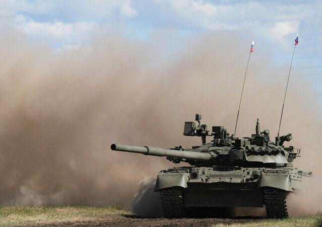 Tank T-80 UK