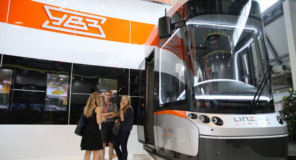 Kabina tramvaje Bombardier. Ilustrační foto
