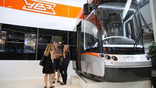Kabina tramvaje Bombardier. Ilustrační foto - Sputnik Česká republika