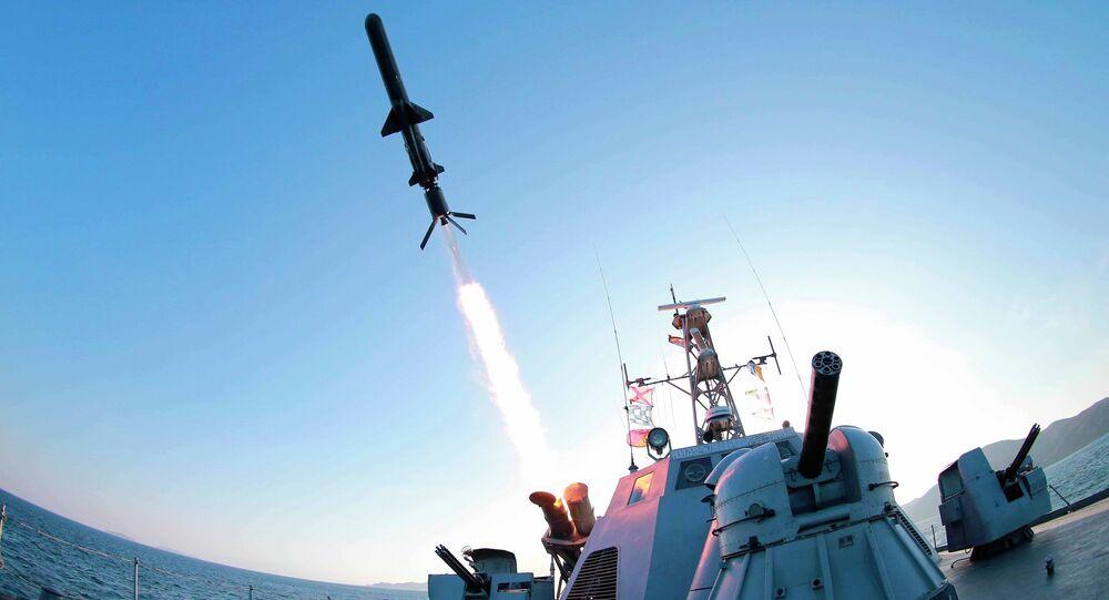 Vypálení rakety KLDR