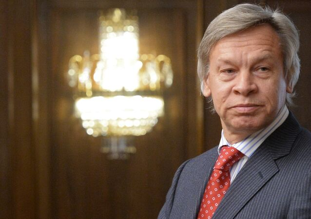 Bývalý předseda zahraničního výboru ruské Státní dumy Alexej Puškov