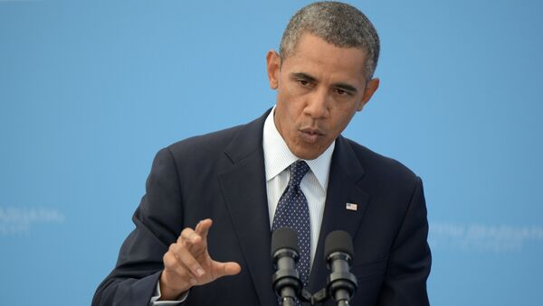 Americký prezident Barack Obama - Sputnik Česká republika