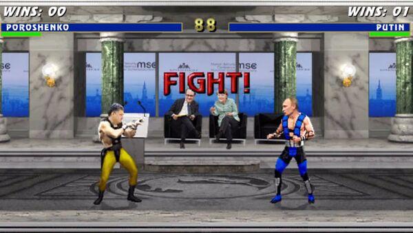 Mortal Kombat: Porošenko vs Putin - Sputnik Česká republika