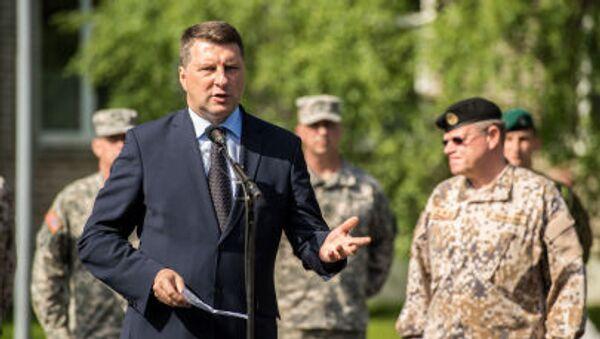 Ministr obrany Lotyšska Raimonds Vejonis - Sputnik Česká republika