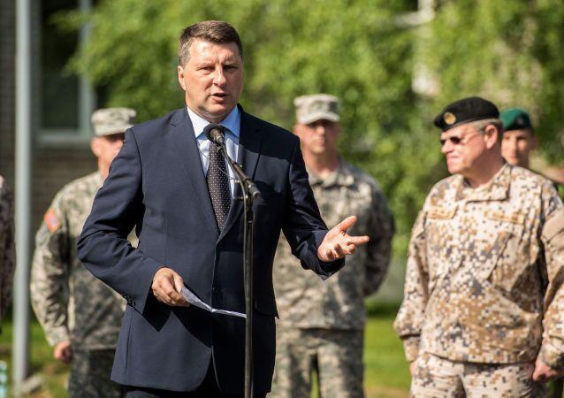 Ministr obrany Lotyšska Raimonds Vejonis