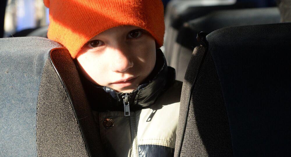 Uprchlíci z Ukrajiny jedou do Ruska