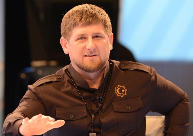 Hlava Čečenska Ramzan Kadyrov