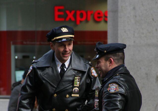 Policisté v New Yorku