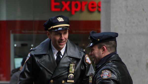 Policisté v New Yorku - Sputnik Česká republika