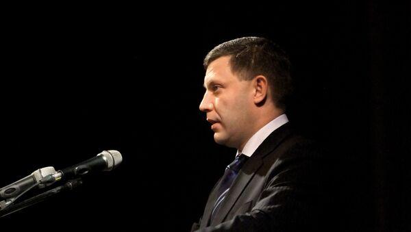 Alexander Zacharčenko - Sputnik Česká republika