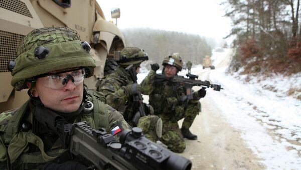 Čeští vojáci během cvičení - Sputnik Česká republika