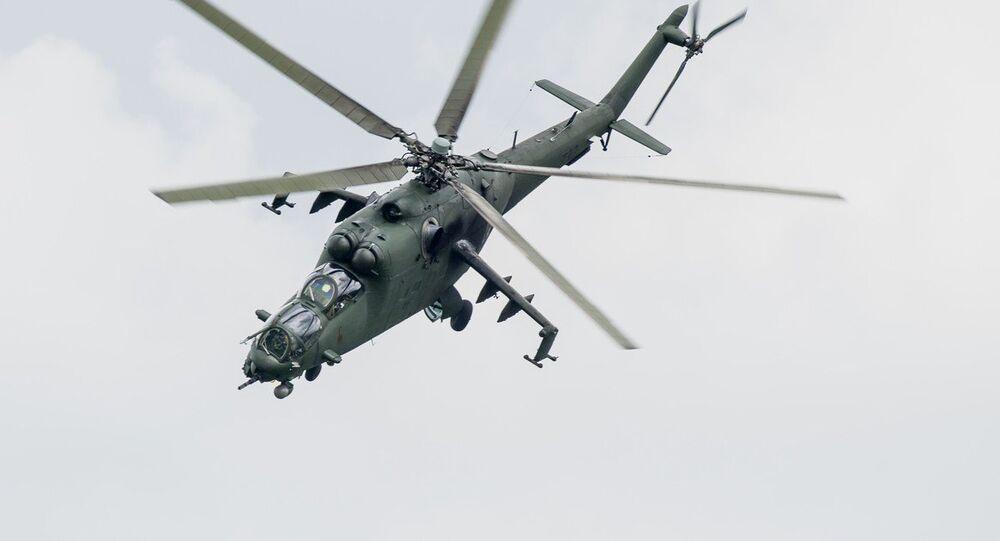 Mi-24. Ilustrační foto