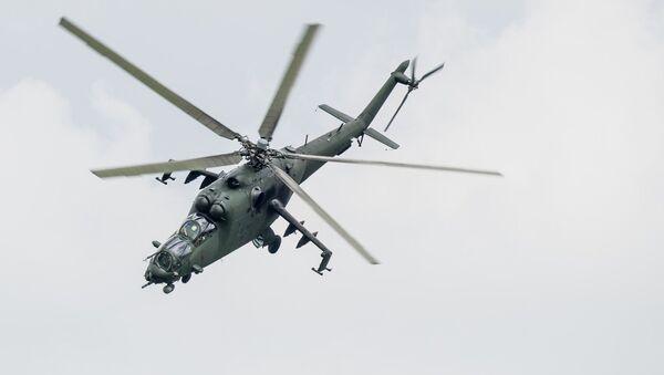 Mi-24. Ilustrační foto - Sputnik Česká republika