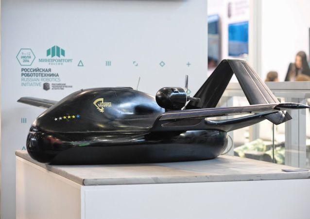 Bezpilotní létající přístroj Čirok, 750 kg vážící model