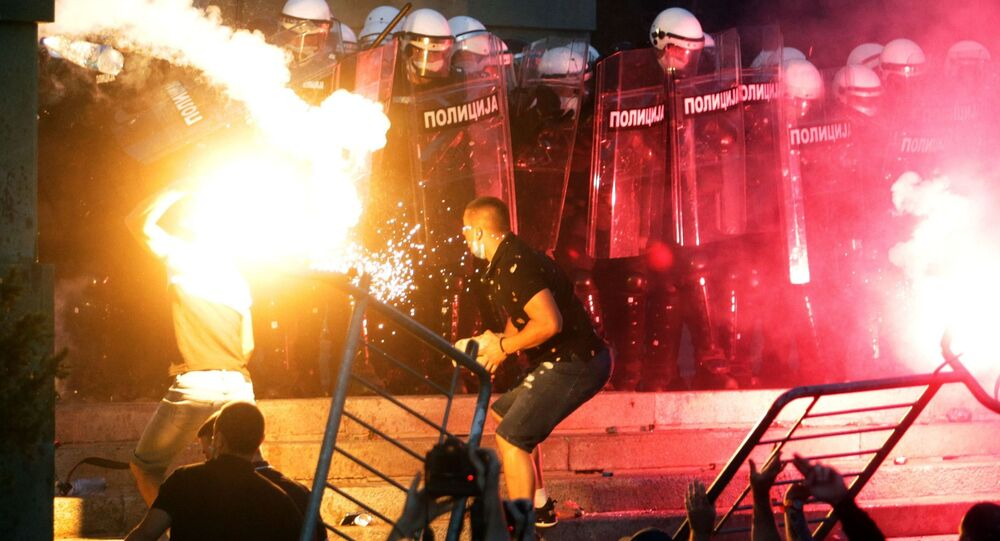 Nepokoje v Srbsku