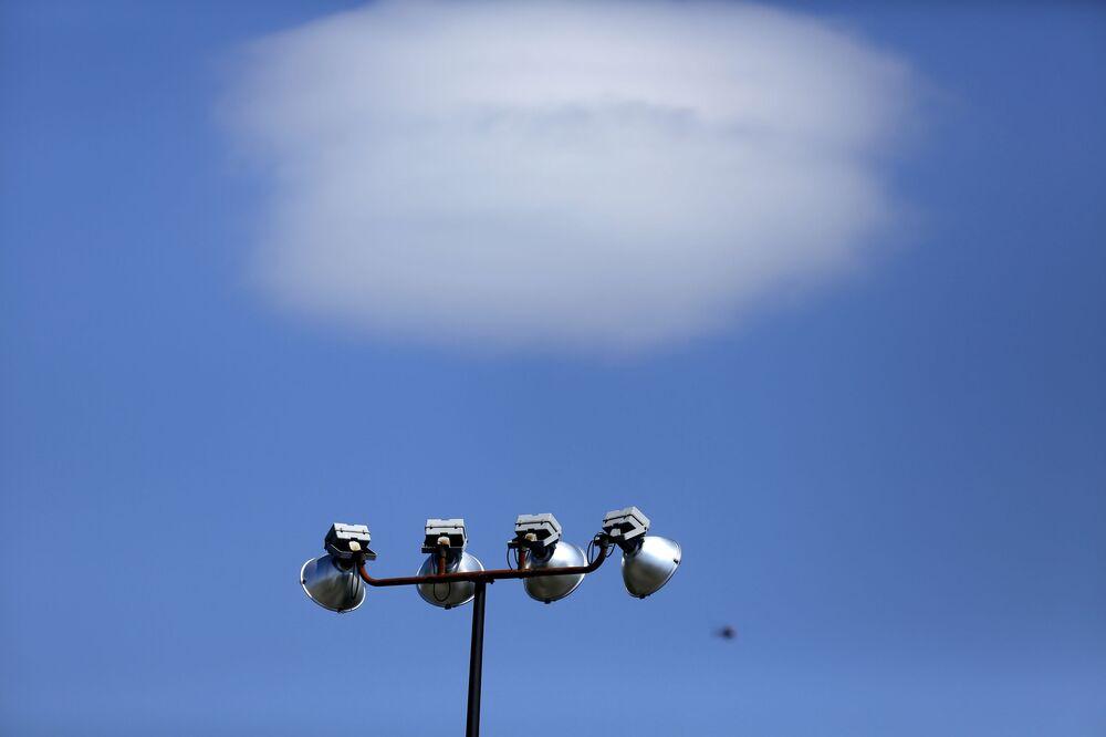 Mrak, který vypadá jako létající talíř, Filadelfie
