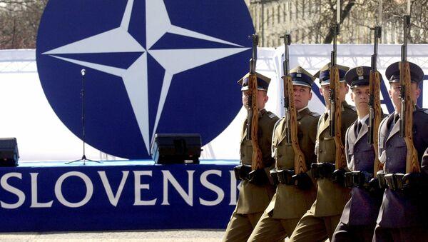 Logo NATO. Bratislava - Sputnik Česká republika
