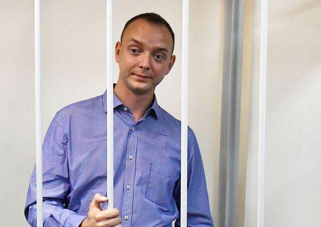 Ivan Safronov u soudu