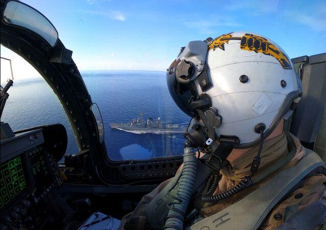 Americká vojenská cvičení v Jihočínském moři