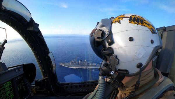 Americká vojenská cvičení v Jihočínském moři - Sputnik Česká republika