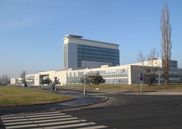 Budova České televize na Kavčích horách v Praze