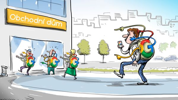 Google byl obviněn ze sledování uživatelů - Sputnik Česká republika