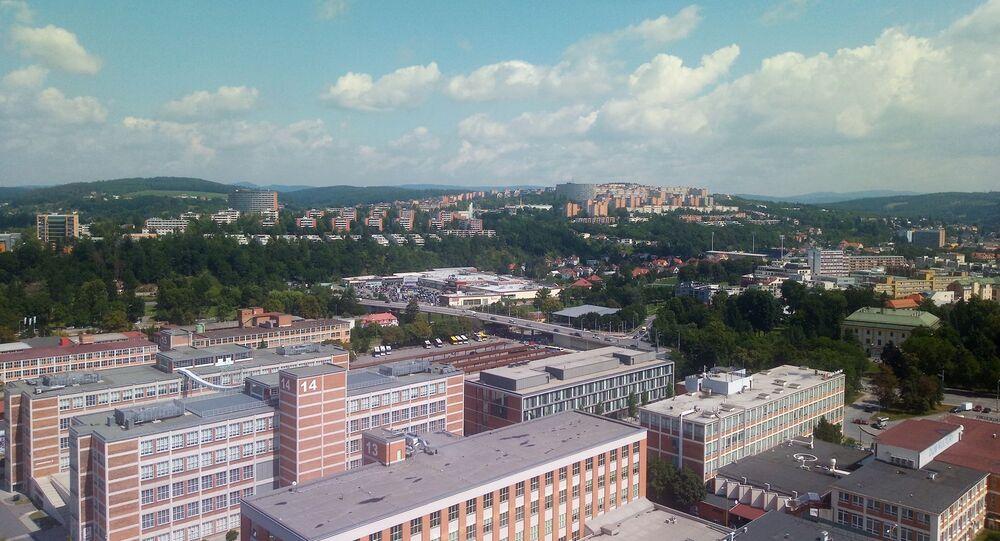 Výhled na Zlín. Ilustrační foto