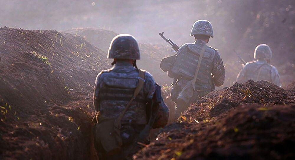 Válečné aktivity na hranici mezi Arménií a Ázerbájdžánem