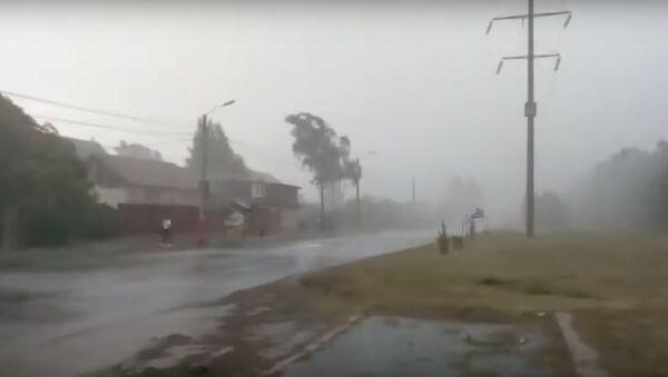 Město Murom ve Vladimirské oblasti zachvátil uragán  - Sputnik Česká republika