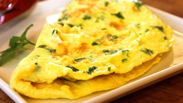 Omeleta na talíři - Sputnik Česká republika