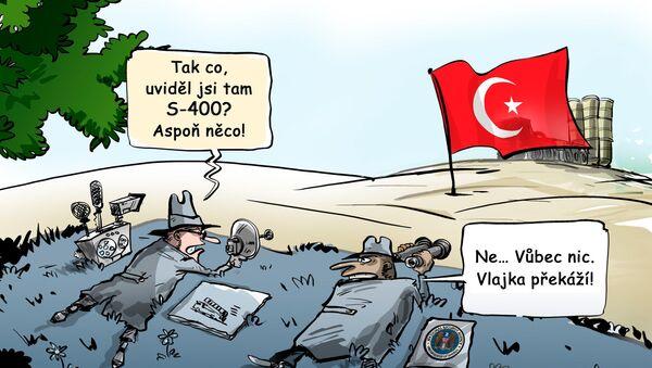 Turecko bude udržovat v tajnosti před Spojenými státy údaje týkající se protiletadlového raketového systému S-400 - Sputnik Česká republika