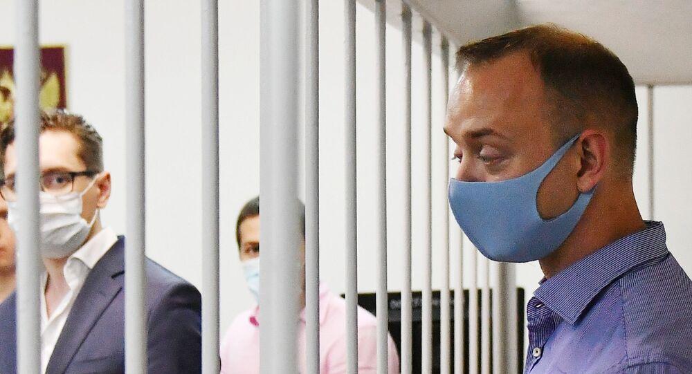 Ivan Safronov, poradce šéfa Roskomosu u moskevského soudu