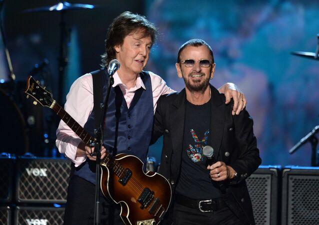 Paul McCartney a Ringo Starr