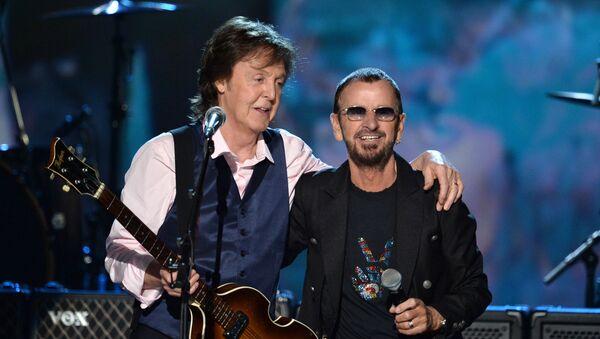 Paul McCartney a Ringo Starr - Sputnik Česká republika