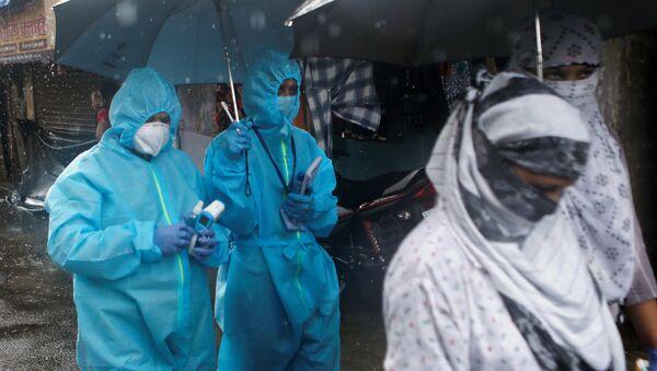 Lékaři v Bombaji, Indie - Sputnik Česká republika