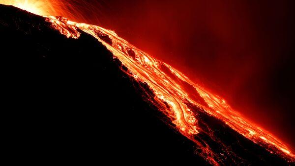 Sopka Stromboli. Archivní foto - Sputnik Česká republika