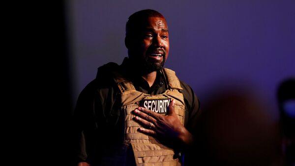 První kampaň Kanye Westa v Jižní Karolíně - Sputnik Česká republika