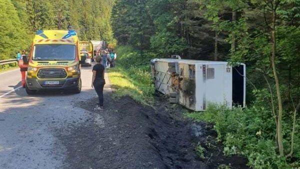 Nehoda v Donovalech - Sputnik Česká republika